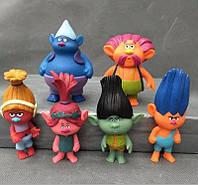 Купить игрушки Тролли ( Trolls ), тролли фигурки, 6 шт