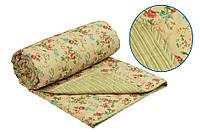 Одеяло шерстяное Руно English style, облегченное евро полуторное 155x210 см