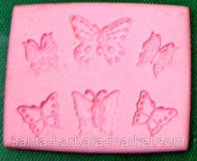 """Молд """"Бабочки мал."""" 6-ти 030-67  NA18121"""