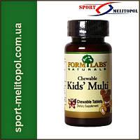 Form Labs Kid's Multivitamin 45 таб. - «Детские жевательные поливитамины»