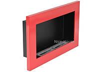 Биокамин Nice-House 65x40 см, красный, фото 2