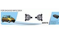 Фары доп.модельные Daewoo/Matiz/ 2004-