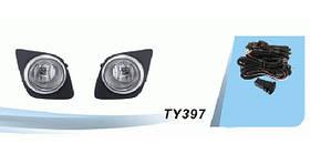 Фары доп.модельные Toyota RAV-4 2009- эл.проводка DLAA TY-397-W