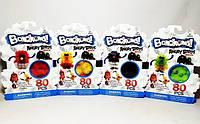 Конструктор-липучка Banchems 9923-1-2-3-4 Angry Birds, фото 1