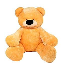 Мягкая игрушка: Плюшевый медведь Бублик, 140 см, Медовый