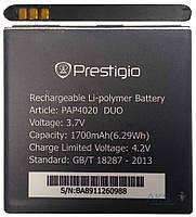 Аккумулятор на Prestigio PAP3500/PAP4020, 1700mAh, оригинал