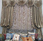 Французские шторы в интерьере ( интересные статьи)