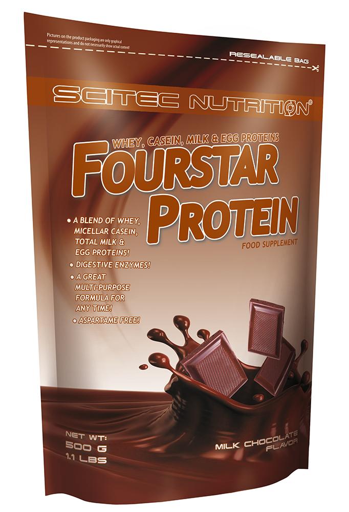 Scitec Nutrition Fourstar Protein 500g