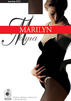 Плотные колготки для беременных Mama 100