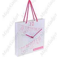 """Настенные часы """"Бумажный пакет"""" (пластик)"""