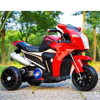 Детский мотоцикл BMW FT-6288: EVA, 6V, 50W, 3.5 км/ч - КРАСНЫЙ- купить оптом , фото 1