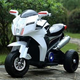 Детский мотоцикл BMW FT-6288: EVA, 6V, 50W, 3.5 км/ч - БЕЛЫЙ- купить оптом