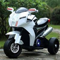 Детский мотоцикл BMW FT-6288: EVA, 6V, 50W, 3.5 км/ч - БЕЛЫЙ- купить оптом , фото 1