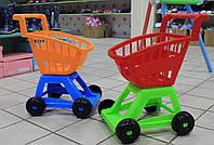 Детская Тележка супермаркет пластик Украина