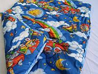 Одеяло детское шерсть 110*140
