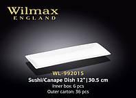 "WL-992015 Блюдо для суши / канапе 12"" | 30,5 см"