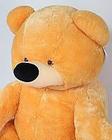 Мягкий Плюшевый Медведь Бублик 110см №3 Б1-23 Мед  Медовый(мишка игрушка)