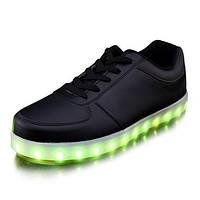 Светящиеся LED кроссовки LEDKED Classic Black