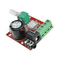 УНЧ 12V 2X10W Hi-Fi PAM8610 Цифровой усилитель D - класса
