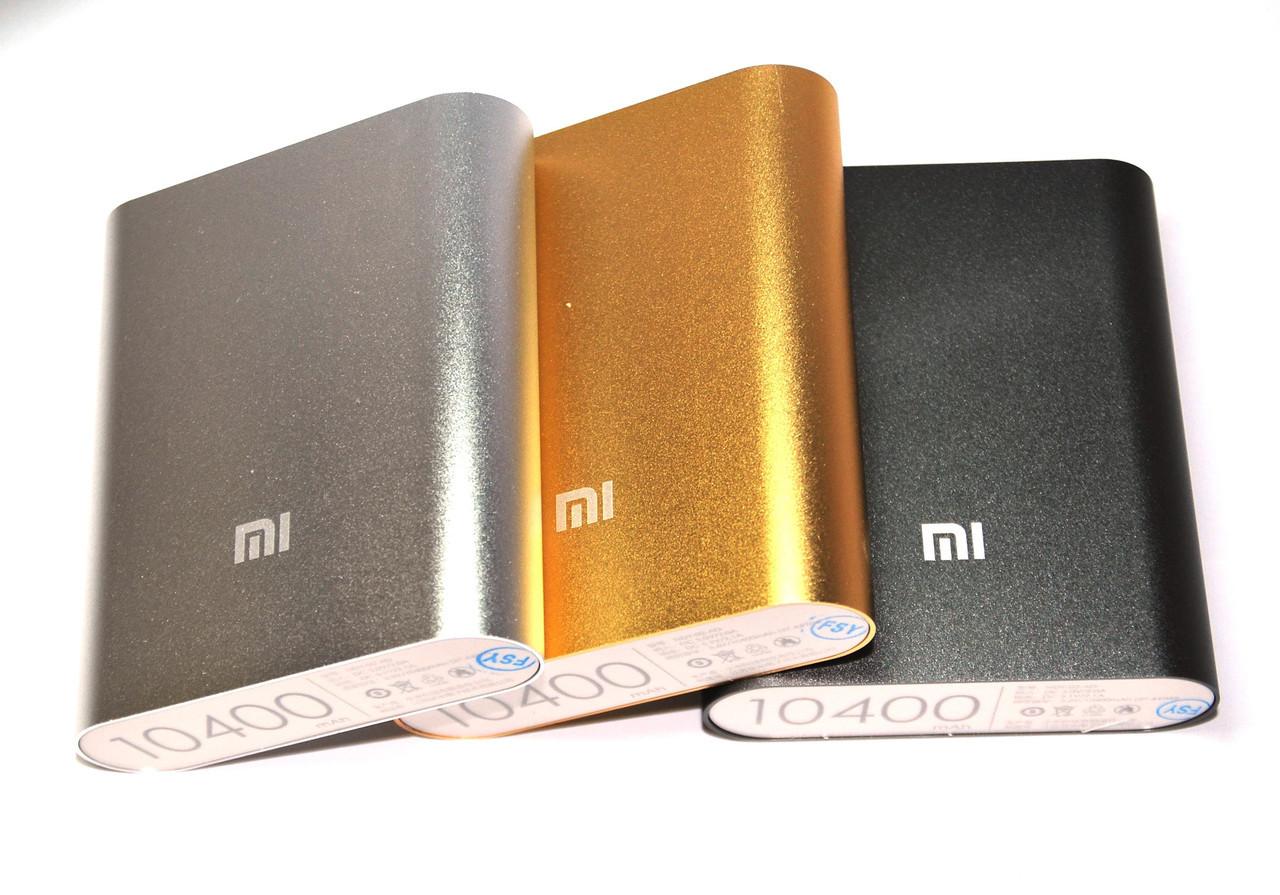 Power Bank Xiaomi Mi 10400 mAh алюминевый корпус