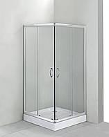 Душевая кабина квадратная Deante FUNKIA, стекло матовое, 80 см