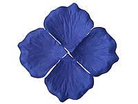 Лепестки роз Синие декоративные 150 шт/уп