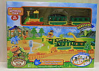 """Железная дорога """"Динозавры"""" в коробке."""
