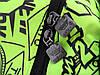 Городской рюкзак Adidas салатовый (реплика), фото 5