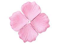 Лепестки роз Розовые декоративные 150 шт/уп