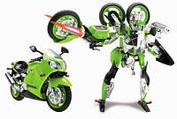 "Трансформер ""Kawasaki NINJA ZX-12R"" Happy Well, TONGDE"