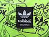 Городской рюкзак Adidas салатовый (реплика), фото 6