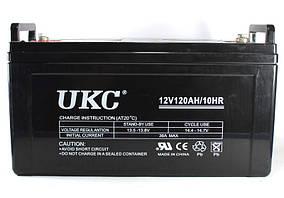 Аккумуляторная батарея (аккумулятор) BATTERY GEL 12V 120A UKC