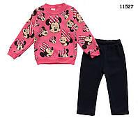 Теплый костюм Minnie Mouse для девочки. 86 см