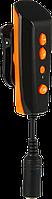 MP3-плеер LAVOD LAF-256. Водонепроницаемый плеер для плавания в бассейне Оранжевый