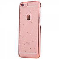 Чехол rock Meteor Series для iphone 6/6S plus розовое золото, фото 1