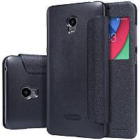 Кожаный чехол-книжка Nillkin Sparkle для Lenovo Vibe P1 / P1 Pro черный