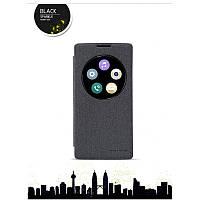 Кожаный чехол-книжка Nillkin Sparkle для LG H422 Spirit черный