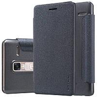 Кожаный чехол-книжка Nillkin Sparkle для LG H650E Zero / Class черный