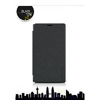 Кожаный чехол-книжка Nillkin Sparkle для Microsoft Lumia 435 Dual Sim черный