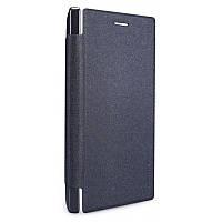 Кожаный чехол-книжка Nillkin Sparkle для Microsoft Lumia 830 черный