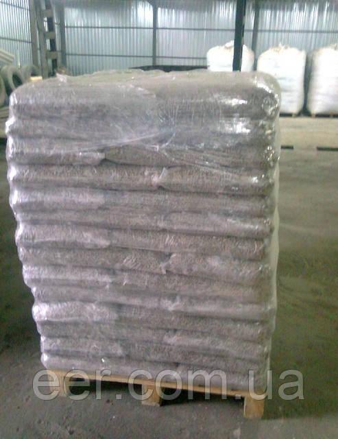 Пеллеты сосновые 6 мм в пакетах