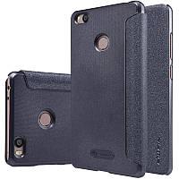 Кожаный чехол-книжка Nillkin Sparkle для Xiaomi Mi 4s черный