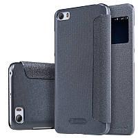 Кожаный чехол-книжка Nillkin Sparkle для Xiaomi MI5 / MI5 Pro черный