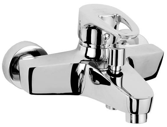 Смеситель для ванны однорычажный, хром 40мм ROZZY JENORI BOSS (RBZ077-3), фото 2