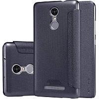 Кожаный чехол-книжка Nillkin Sparkle для Xiaomi Redmi Note 3 / Redmi Note 3 Pro черный