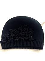 Вязаная шапка для девочки.