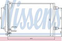 Радиатор охлаждения кондиционера NISSENS 94831; VAG 3C0820411G, 3C0820411J; NRF 35614 на Volkswagen Passat