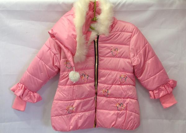 861ed16c17d Демисезонные куртки для девочек оптом 1-3 года   продажа