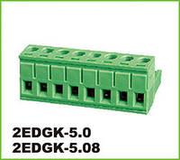 Клеммник 2EDGK-5.0-02P-14 (MSTB 2.5/2-ST) (KLS2-EDK-5.00-02P-4S) /DEGSON/