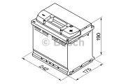 "Аккумулятор BOSCH S5 Silver Plus 63Ah , EN610 , правый ""+"" , ( Bosch 0 092 S50 050 ) 242*175*190 (Д*Ш*В)"